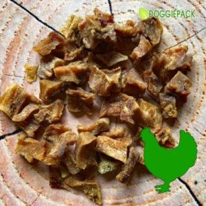 Hähnchenfleisch-Würfel getrocknet – für Hundetraining