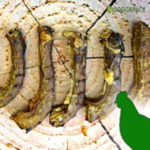 Hähnchenhälse getrocknet