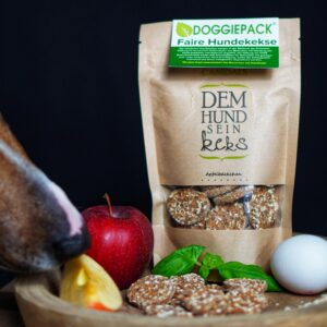 Hundekekse Apfelbäckchen – Aus fairer Produktion