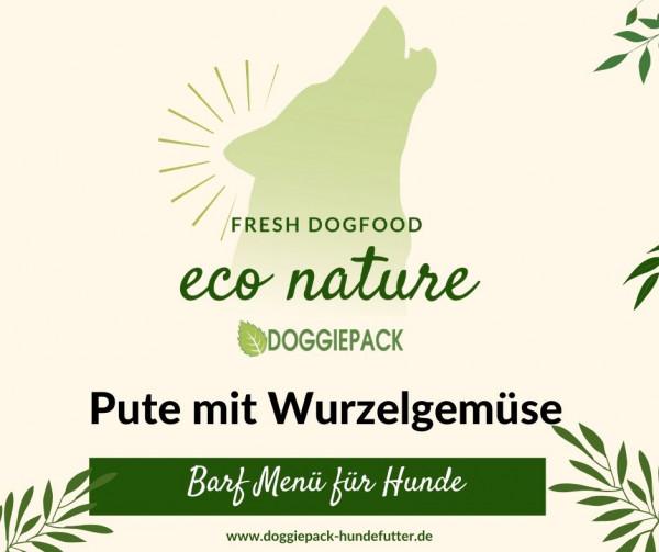 Pute mit Wurzelgemüse – eco nature BARF Menü
