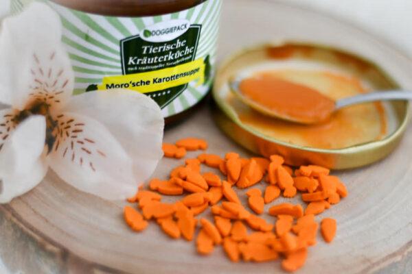 Moro'sche Karottensuppe für Hunde